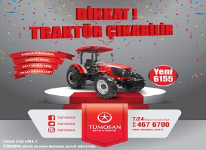 Huge Raffle from TÜMOSAN in Konya