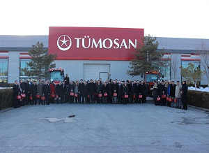 THE TİKA COMMITTEE WAS HOSTED IN THE TÜMOSAN FACTORY